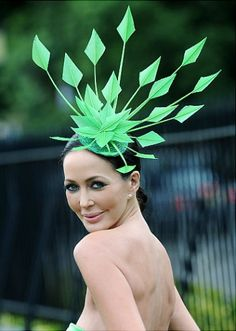 more hat than clothiing?  -- Kentucky Derby 2012: Craziest racing hats ever - NY Daily News