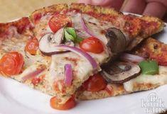 Heerlijk én gezond: een overheerlijke bloemkoolpizza met champignon