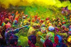 Holi-feest, India