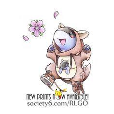 Más Pokémon adorables que se visten de sus evoluciones (parte 1).
