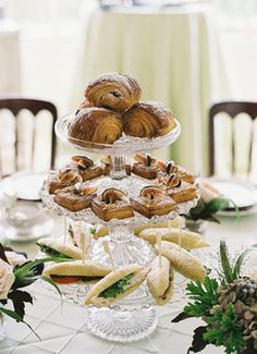 Garden Tea Party - tiered cake plates | Twelve Baskets Catering | Midory Bakery | Jennifer Tai Photography | Storybook Farm