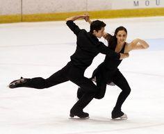 Senior free dance at Lake Placid Ice Dance Championships