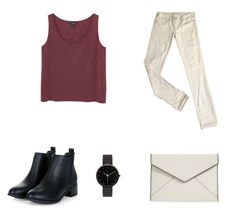 """""""Untitled #6"""" by tiril-solberg-1 on Polyvore featuring beauty, Monki, Levi's, Rebecca Minkoff and I Love Ugly"""