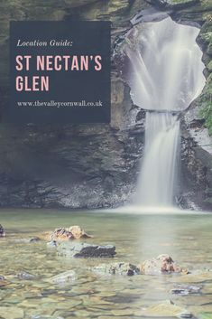 St Nectan's Glen is an Area of Outstanding Natural Beauty in Cornwall. In our latest location guide, we explore all the St Nectan's Glen has to offer. Days Out In Cornwall, Holidays In Cornwall, Devon And Cornwall, British Holidays, Stan Lee, Staycation, Cool Places To Visit, Archaeology, Bookshelves