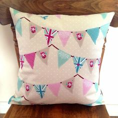 Shabby Gifts and Homeware, personalised gifts, wedding & bridesmaid ideas, hand painted and decorated items. Shabby Chic Cushions, Handmade Cushions, Vintage Bunting, Shabby Chic Hearts, Heart Cushion, Cushion Ideas, Soft Furnishings, Home Accessories, Personalized Gifts