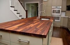 [ Transitional Kitchen Butcher Block Countertops And Types Oiling Wallpaper  Cool ]   Best Free Home Design Idea U0026 Inspiration