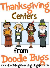 Doodle Bugs Teaching {first grade rocks!}: {Thankgiving Centers}