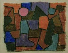 Paul Klee - Spaetes Gluehen, 1934,