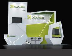 Exhibition - Area -6X6-3DMAX2009-4   - STANDS pequeños Exhibition Stall, Exhibition Booth Design, Exhibit Design, Counter Design, Show Booth, Stand Design, 3d Projects, Display, Model