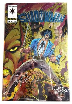 SHADOWMAN #0: 1994, Valiant Comics. Limited to 1300. Signed X 2. NM. Unread.