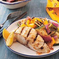 Parmesan-Lemon Mahimahi | MyRecipes.com