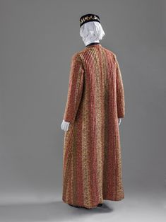 At-home Robe (Banyan) 1880s Fashion, Victorian Fashion, Vintage Fashion, Historical Costume, Historical Clothing, Kimono Dressing Gown, 18th Century Clothing, Fashion History, Vintage Men
