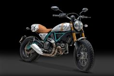 RocketGarage Cafe Racer: Ducati Scrambler Paul Smart
