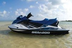 Image result for sea doo blue boat