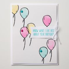 There are so many different elements in the Hey, Girl set, you can make a card for almost any occasion!
