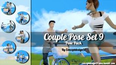 Blackys Sims 4 Zoo: Couple Pose Set 9 by ConceptDesign97 • Sims 4 Downloads
