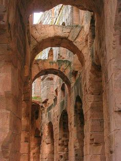 amphitheater, El Djem, Tunisia