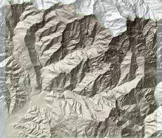 DTM 1:2.000 del Bacino Marmifero di Carrara e Massa, Toscana, 2009 - Alberto Antinori
