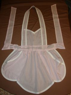 KITCHEN KUTIES New Handmade Bib Apron Full Apron Loop or Tie Neck Pink Check Fabric From 1950s Vintage Pattern Bridal Shower Gift by GreatfindGallery on Etsy https://www.etsy.com/ca/listing/229940973/kitchen-kuties-new-handmade-bib-apron