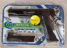Colt M1911A1 Spring Airsoft Pistol Cyber Gun Officially Licensed by Colt 18043…