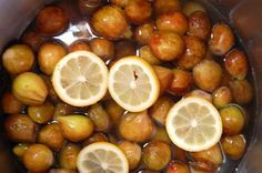 Fig Preserves..look just like mama's.  If you have never eaten fig preserves you must try some.