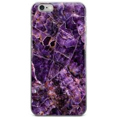 Purple Marble iPhone Case (240 ZAR) ❤ liked on Polyvore featuring accessories, tech accessories, phone cases, phone, electronics, iphone, iphone cover case, purple iphone case, iphone sleeve case and apple iphone case