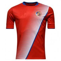 bc5953000 Costa Rica National Team 2017 Home Red Soccer Jersey  I610  Football Dress
