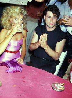 John Travolta (with Olivia Newton John)
