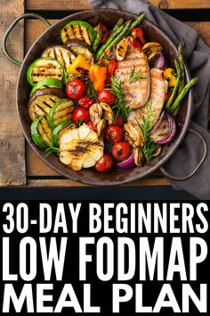 IBS Relief: Low FODMAP Meal Plan for Beginners With 120 recipes to choose from, this easy Low FODMAP meal plan for beginners will help you get started and stay motivated with the Low FODMAP Diet! - Low FODMAP Meal Plan for Beginners Dinners Under 500 Calories, 500 Calorie Meals, Low Calorie Vegan Meals, Filling Low Calorie Meals, 500 Calories A Day, Calories Burned, Paleo Meals, Paleo Food, Diet Meals