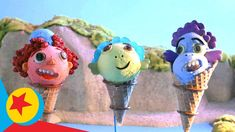 Food Artists, Gelato, Pixar, The Creator, Disney, Sweet, Inspired, Youtube, Cream