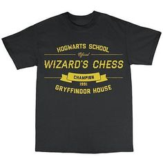 Wizard's chess t-shirt premium #cotton #gryffindor #house,  View more on the LINK: 	http://www.zeppy.io/product/gb/2/272123556102/