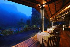 Borneo Rainforest Lodge. One day I will visit here. This is absolutely breathtaking.