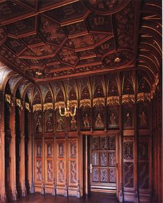 King's Room at Scarisbrick Hall http://modernmedievalism.blogspot.co.uk/2012/09/the-marvelous-creations-of-pugin-and_25.html