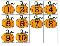 fall kindergarten centerstons of great printables and ideas - Halloween Numbers Printable