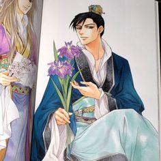 Shuuei Ran~Saiunkoku Monogatari Manga Boy, Anime Manga, Anime Guys, Japanese Novels, Japanese Art, Saiunkoku Monogatari, Anime Recommendations, Manga Comics, Anime Shows