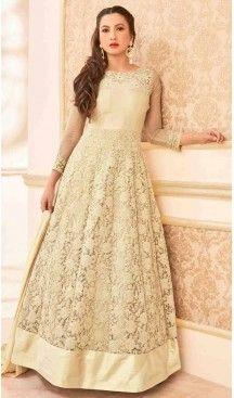 Beige Color Georgette Long Anarkali Style Pakistani Salwar Kameez | FH542681468 Follow Us @heenastyle << #pakistanifashion #onlineshoppingusa #heenastyleonlineshoppingindia #onlineshoppingusa #onlineshoppingindia #saree #sari #indianwear #indiangirls #indiagirl #boutiquecowgirl #countrygirls #onlineshoppingusa #classyfashion #classyladies #cutoutdress #luxurylook #littlewhitedress #stylists #fashion #fashionista #onlineshoppingusa #shopmystore #outfitideas #girlsbelike #heenastyle