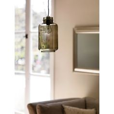 Recycle Glass Easy Fit Pendant - Smoke at Homebase -- Be inspired and make your house a home. Buy now.