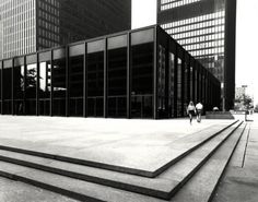 The North Elevation: Classic Spaces: Mies van der Rohe: Toronto Dominion Centre