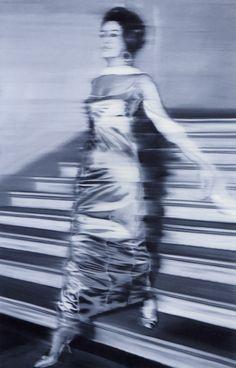 From Walker Art Center, Gerhard Richter, Woman Descending the Staircase (Frau die Treppe Herabgehend) Oil on canvas Centre Des Arts, Gerhard Richter Painting, Pop Art, Walker Art, Art Institute Of Chicago, Figurative Art, Oeuvre D'art, Art History, Contemporary Art