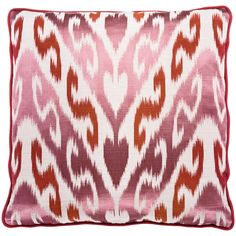 Stasera - pink from SOFA AFFAIRS Animal Print Rug, Home Accessories, Sofa, Rugs, How To Make, Pink, Home Decor, Linen Fabric, Rustic