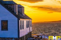 Peggy's Cove House on a Winter Evening  - All of my photos/designs look MUCH better when viewed Large on my flickr site. Please check out my photo-stream at - http://www.flickr.com/photos/sizzler68/ - © Rodney Hickey Photography 2014