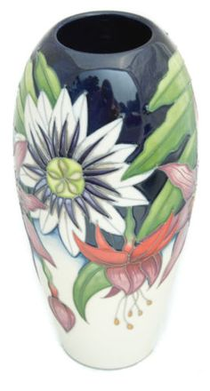 Moorcroft Numbered Ed Sandbach Bouquet Vase 101/7 Vicky Lovatt 2013 Collection in Pottery, Porcelain & Glass, Pottery, Moorcroft   eBay