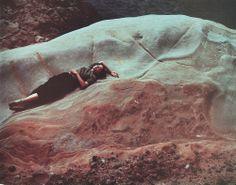 Edward Weston - Dody,  Point Lobos, 1947 - Ektachrome