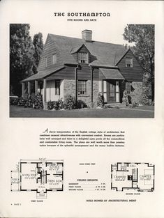 Plan book of Harris homes : book number seventy... | Interesting ...