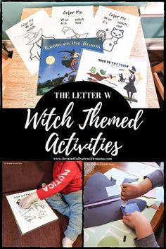 Witch Activities for Halloween - THE MINDFULLY SCIENTIFIC MAMA