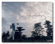 #SportsMemorabilia.com - #SportsMemorabilia.com Rory McIlroy Signed Autographed 16X20 Photo Into the Horizon Profile Shot UDA - AdoreWe.com