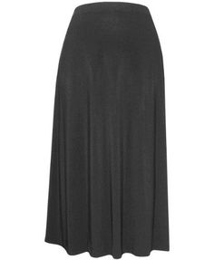 Plus Size Back In Black Party Skirt -- Size:3x Color:Black Alex Evenings. $69.99