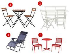 patio furniture small spaces - Google Search