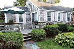 Check out this awesome listing on Airbnb: 1 bdrm Hyannis cottage w/ pool - Walk to Beach! - Houses for Rent in Barnstable Beach Cottage Exterior, Cape Cod Massachusetts, Beach Cottages, Beach Houses, Renting A House, Ideal Home, Perfect Place, New England, Tiny House
