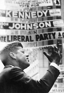 presidential campaign posters | John F Kennedy Poster Democratic Presidential Campaign